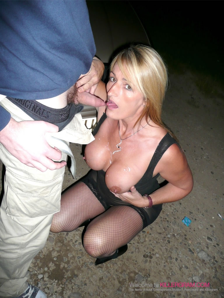 Milf in public dogging french